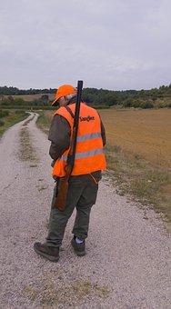 Hunter, Hunting, Gun, Game