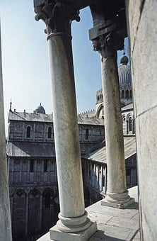 Pisa, Leaning Tower, Italy, Architecture, Building