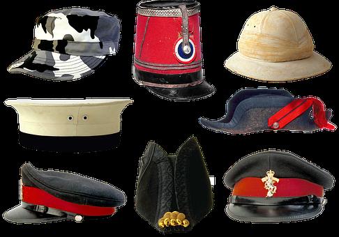 Military Uniforms, Peaked Cap, Kepi, Army, Camo