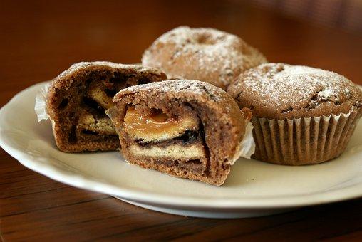 Muffinka, Muffin, Cupcakes, Cut Muffinka