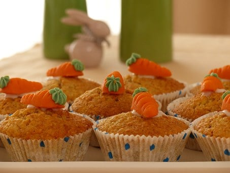 Carrot Cake, Cake, Muffins, Cupcakes, Easter, Bake