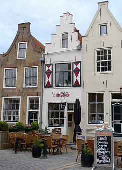 House, Stepped Gable, Netherlands, Terrace