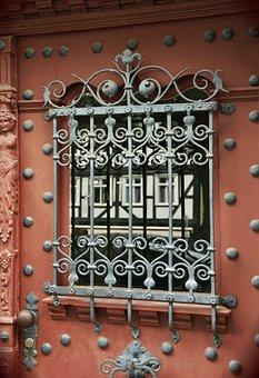 Door, Old Door, Ironwork, Ornaments, Iron, Input