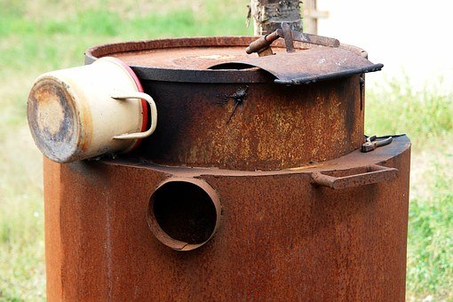 Metal, Rust, Cauldron, Iron, Old, Rusted, Vintage, Red