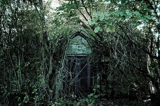 Romantic, Haunting, Old, Mystical, Secret, Building