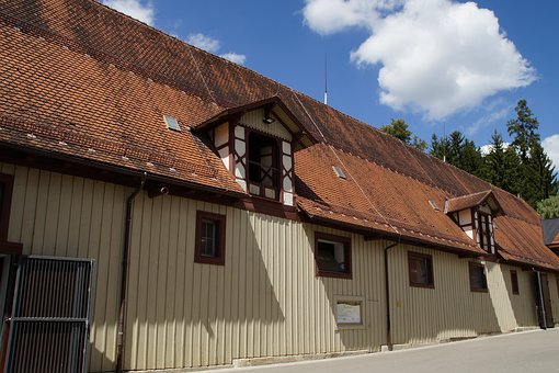 Stall, Stabling, Horse Stable, Stud, Old, Marbach