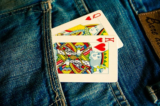 Cards, Jeans, Blue, Pocket, Fashion, Clothing, Casual