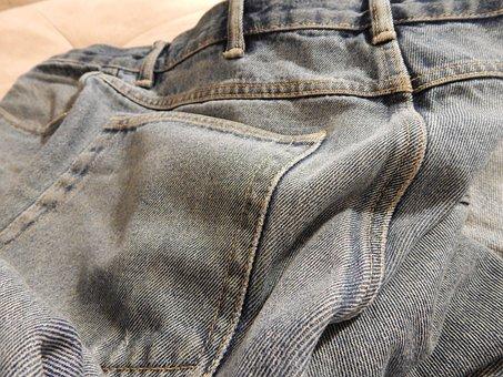 Jeans, Denim, Pants, Pocket, Blue, Trousers, Clothing