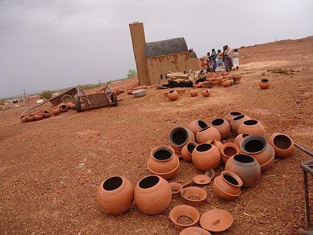 Africa, Afrique, Burkina Faso, Pottery, Sahel