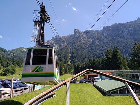 Tegelberg, Tegel Mountain Rail, Cable Car, Schwangau