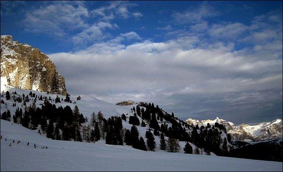 Alpine, Mountains, Mountain Landscape, Snow
