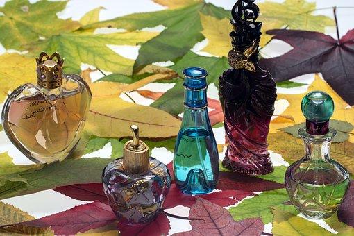 Perfumes, Perfume Bottles, Still Life, Bottle, Color
