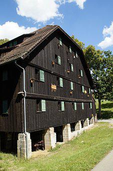 Farmhouse, Vacation, Summer, Marbach, Germany, Building