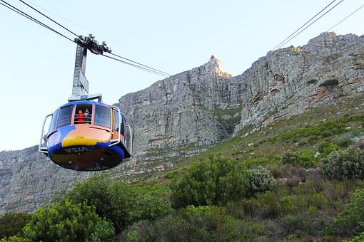 Cable Car, Cable, 360-degree, Table Mountain