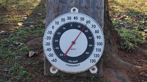 Fahrenheit, C, Temperature, The Air, Numbers, Circle