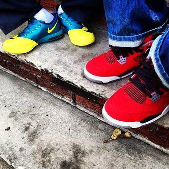 Nike, Jordan, Tennis Shoes, Running, Sports, Apparel