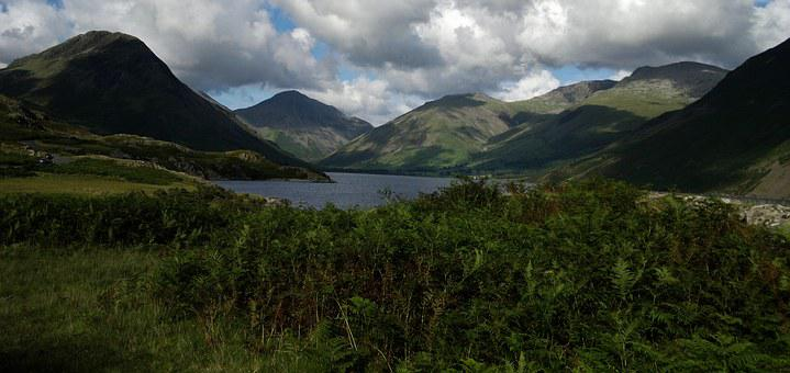 Cumbria, Wasdale, Lake District, Great Gable, Yewbarrow
