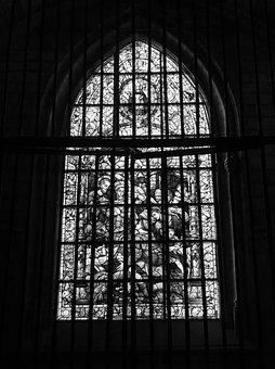 Cathedral, Seville, Window, Cristalera, Grating
