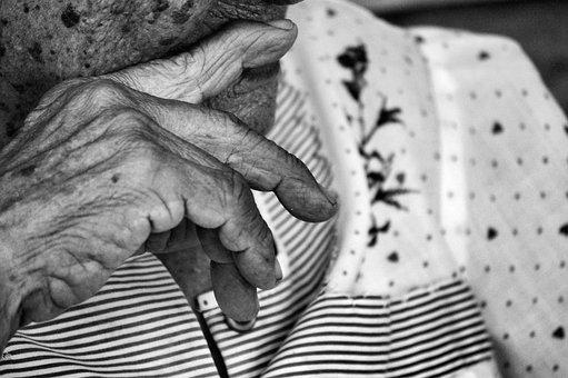 Grandmother, Wrinkles, Older Adult, Reflection