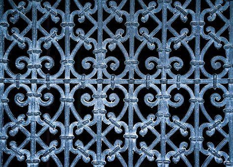 Pattern, Abstract, Oriental, Door, Fence, Texture