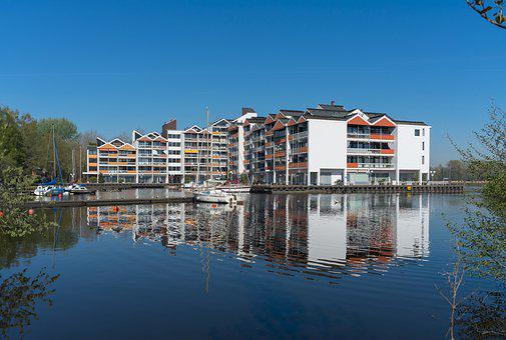 Live, Modern, Urban, Water, Apartment, House