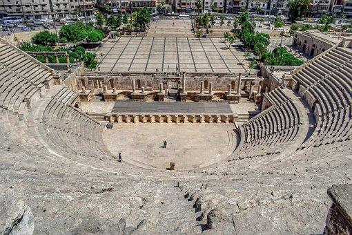 Roman Theatre, 2nd Century, Landmark, Architecture
