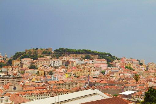 Portugal, Lisbon, Barrio Alto, Architecture, City