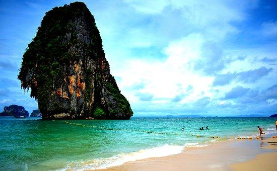 Beach, Thailand, Karabi, Island, Sea, Water, Travel