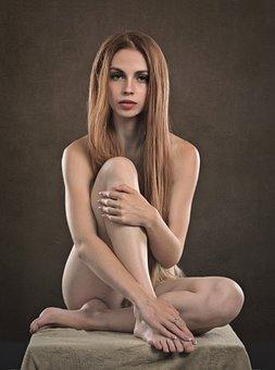 Girl, Woman, Beauty, Outside, Portrait, People, Hair