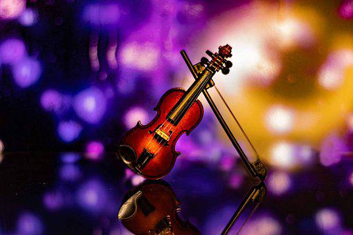 Violin, Bokeh, Classic, Entertainment, Artists, String