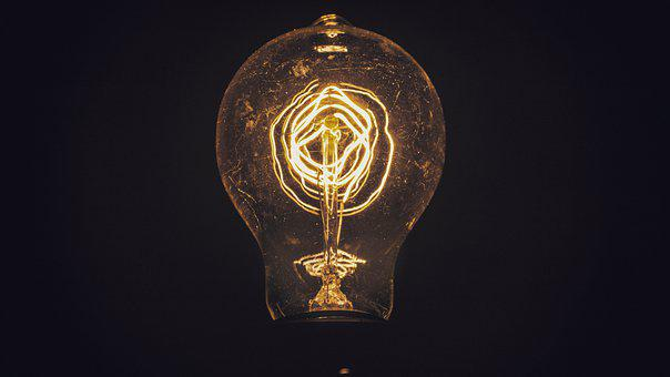 Light, Bulb, Filament, Lightbulb, Energy, Idea, Lamp