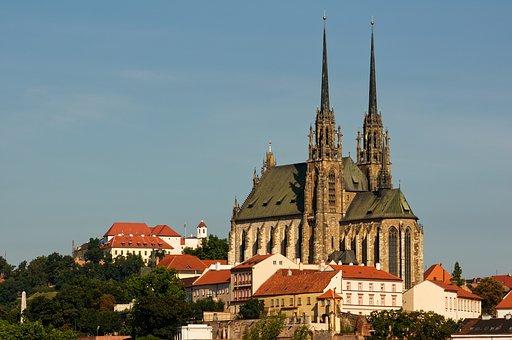 Brno Czech Republic, Petrov, Church, Cathedral
