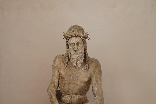 Statue, Sculpture, Christ, Former, Figure, Face