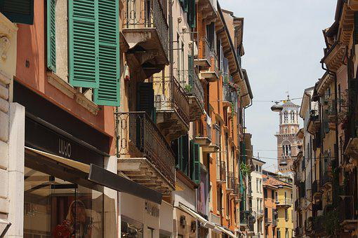 Italy, City, Verona, Architecture, Tourism, Travel
