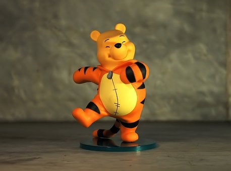 Winnie The Pooh, Bear, Fictional, Colorful, Pooh, Tiger