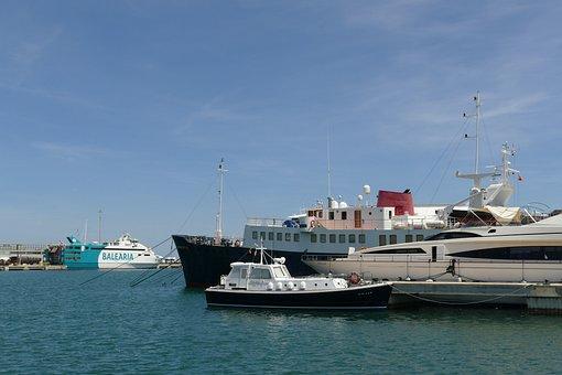 Port, Ship, Boat, Ferry, Crossing, Hunting, Luxury
