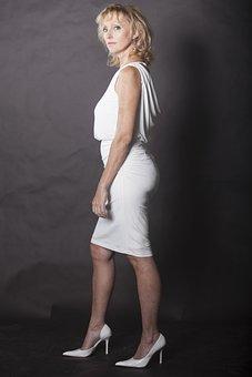 Woman, Lady, Business Woman, Businesswoman, Dress