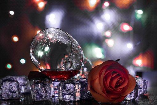 Wine, Glass Rose, Drink, Wedding, Alcohol, Celebration