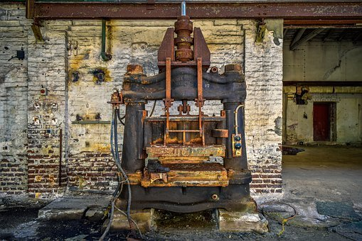 Lost Places, Factory, Press, Machine, Pforphoto, Hall