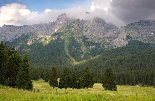 Mountain, High, Peak, Mountains, Landscape, Adventure