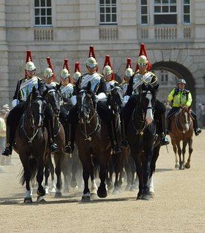 Household Calvary, Horse Guards Parade