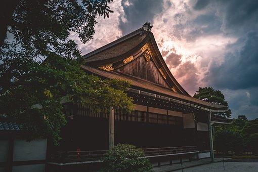 Kyoto, Palace, Japan, Building, Architecture, History