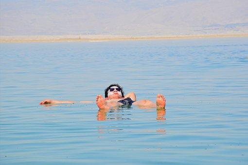 Dead Sea, Cool Wallpaper, Sea, Joy, Sun, Landscape