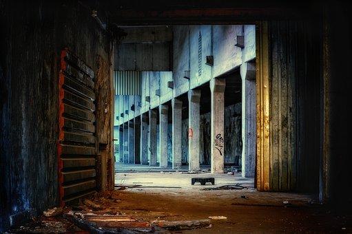 Hall, Factory, Abandoned, Pforphoto, Atmosphere, Lapsed