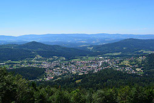 Bodenmais, Bavarian Forest, Bavaria, Germany, Mountains