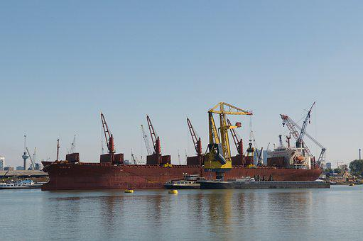 Rotterdam, Port, Ship, Skyline, Holland, Netherlands