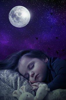 Fantasy, Portrait, Fantasy Portrait, Child, Sleeping