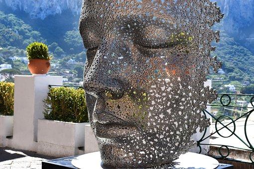 Art, Mask, Face, Profile, Portrait, Head