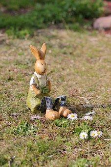 Easter, Easter Bunny, Rabbit Figure, Easter Theme