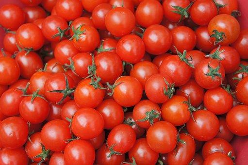 Cherry Tomato, Tomato, Fruit, Dessert, Diet, Red